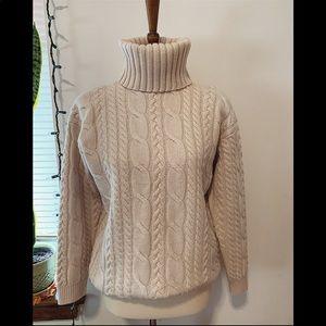 BLOOMINGDALE'S 100% Wool Turtleneck Sweater